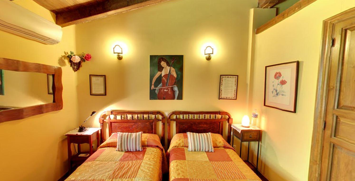 Habitaci n doble con dos camas hotel rural el camino - Habitacion 2 camas ...