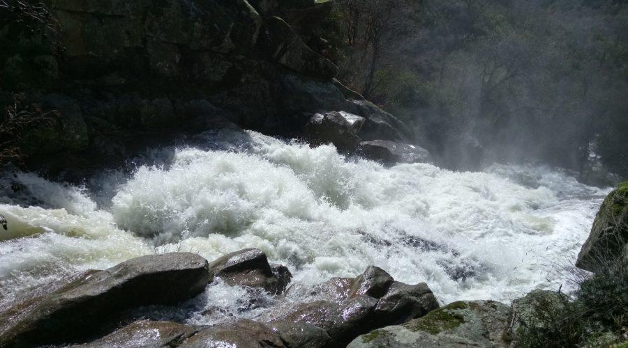 La cascada del diablo en Villanueva de la Vera