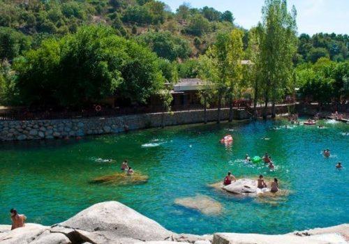 Piscinas naturales - Hotel Rural El Camino